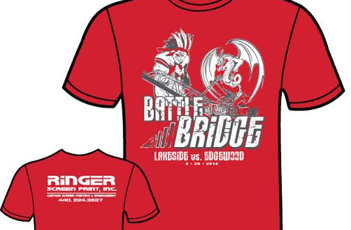 Battle of the Bridge Shirts On Sale Wednesday!