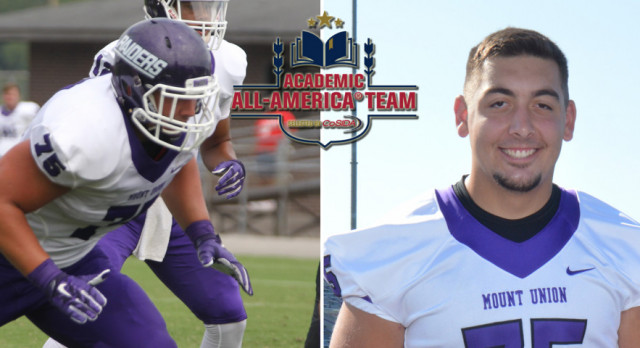 Warrior Alum Named Academic All American