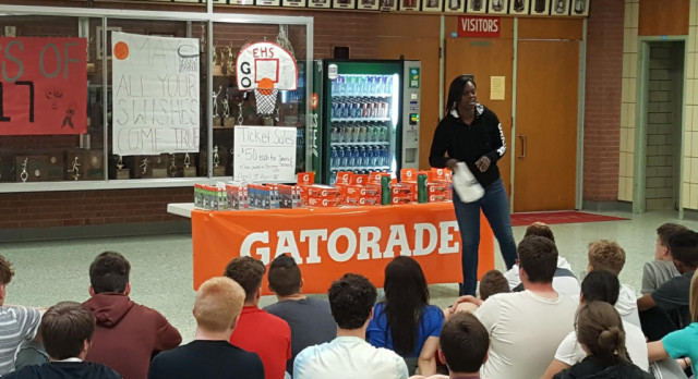 "Welcome to Gatorade ""G"" Week"
