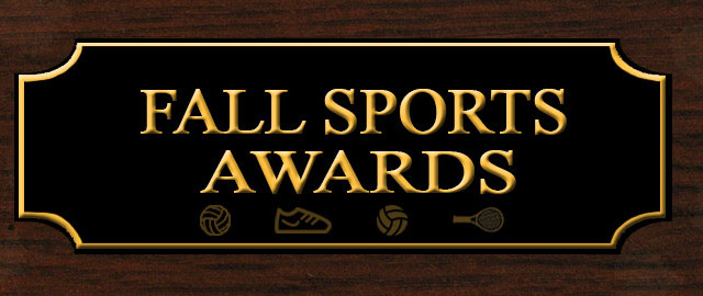 2017 Fall Sports Awards Winners