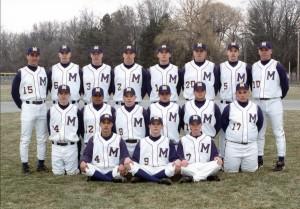 2001 Baseball Team photo
