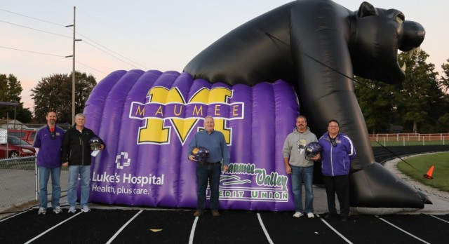 Inflatable Panther Tunnel Debuts at Final Home Game