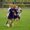Girls Varsity Soccer vs. Toledo Christian, Sept. 10th