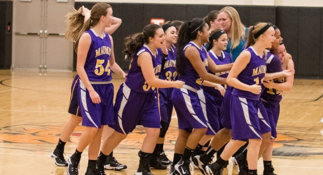 Maumee High School Girls Junior Varsity Basketball beat Liberty Center High School 25-22