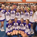 Varsity Cheer Competition @ Otsego High School, January 14th