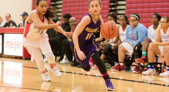 Maumee High School Girls Varsity Basketball beat Bowsher High School 45-33
