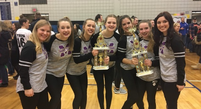 MHS Dance Team Competes at OASSA State Competition