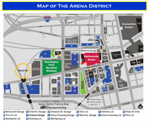 Map of Arena District