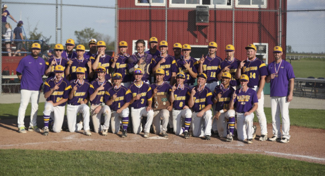 Maumee Baseball beats Wapakoneta 5-3 for District Title