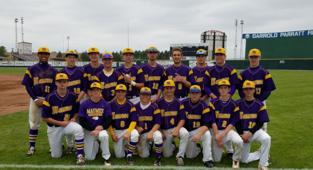 Maumee High School Varsity Baseball beat Defiance High School 4-3