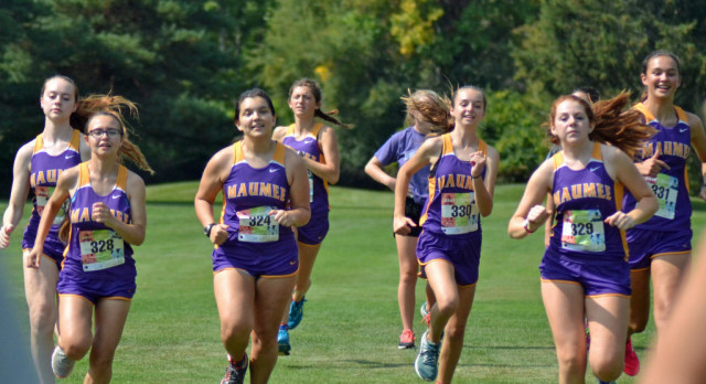 Maumee High School Girls Varsity Cross Country finishes 10th place