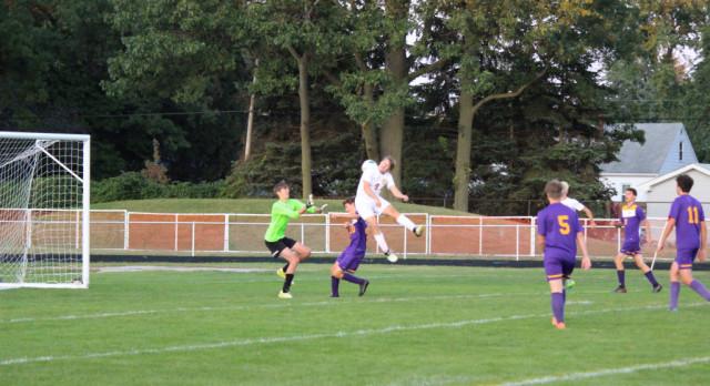 Maumee High School Boys Varsity Soccer beat Bryan 8-0