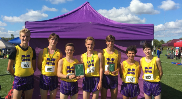 Maumee High School Boys Varsity Cross Country finishes 3rd place