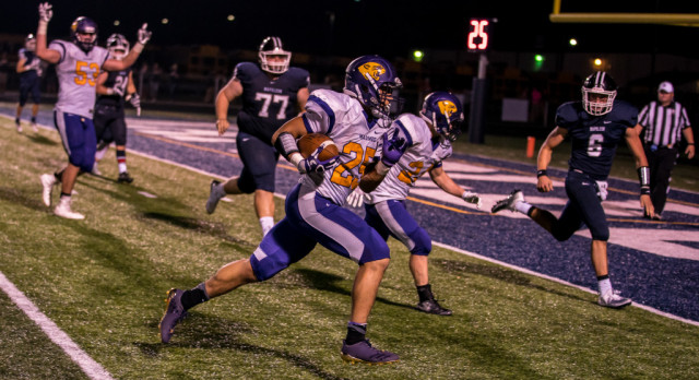 Maumee High School Varsity Football beat Napoleon High School 21-0