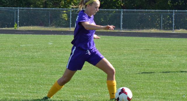 Maumee High School Girls Varsity Soccer falls to Swanton High School 8-2