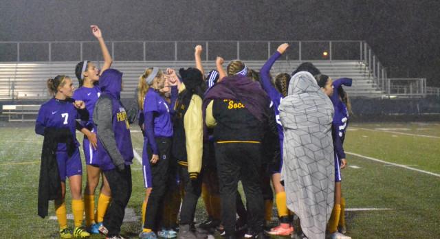 Maumee High School Girls Varsity Soccer beat Napoleon High School 1-0