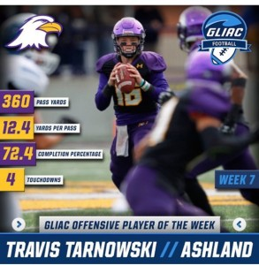 Travis Tarnowski - Player of the Week