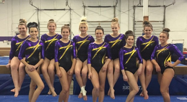 Gymnastics Team Takes 6th In Sectionals