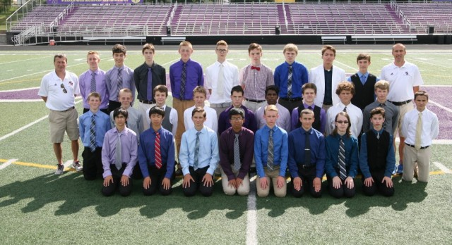 Boys Varsity Cross Country – 2016 Fall Sports Awards Winners
