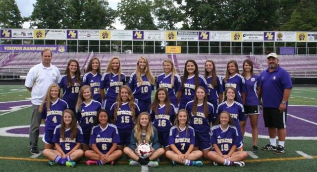 NR Girls Soccer Suburban League Champs. State Tournament Ahead.