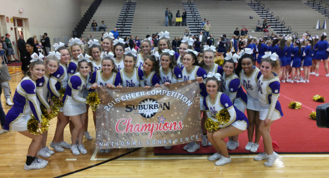 North Royalton Cheerleaders Win 1st Again In SL Championships