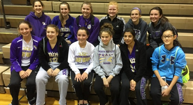 8th Grade Girls Basketball Team Pulls Out 1st Victory