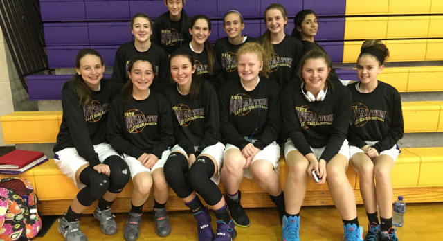 8th Grade Girls Basketball Team Wins Tournament Game Versus Tallmadge