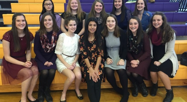 MS Girls 8th Grade Basketball – 2016/2017 Winter Sports Awards