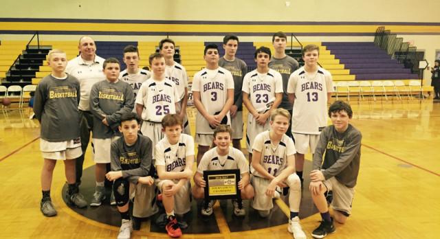 MS Boys 7th Grade Basketball – 2016/2017 Winter Sports Awards