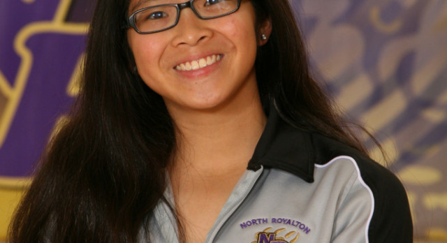 Girls Varsity Swimming Senior Spotlight: Angie Jang