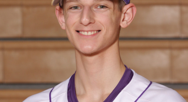 Boys Varsity Baseball Senior Spotlight:  Brent Michalak