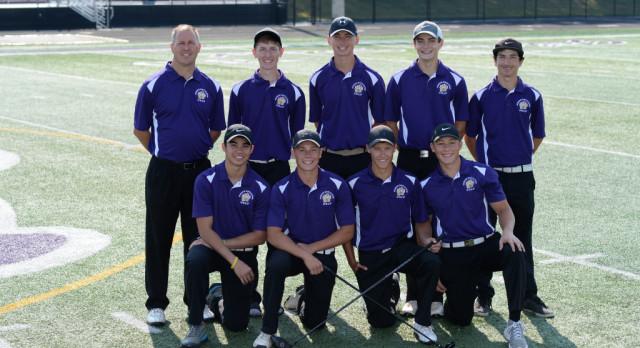 Boys Golf Team Wins Mid-Season Tournament
