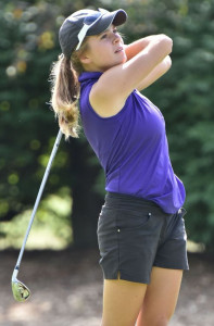 Megan Grospitch, a golf and basketball standout, is The Post's 2016-17 North Royalton Female Athlete of the Year.   Photo by BRUCE BILLOW