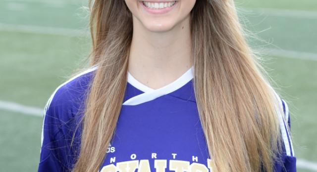 Girls Varsity Soccer Senior Spotlight:  Krista Harbart