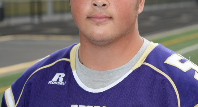 Boys Varsity Football Senior Spotlight:  Mike Niedermeyer
