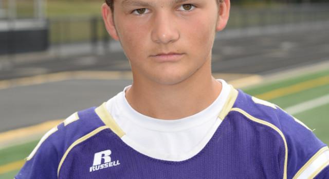 Boys Varsity Football Senior Spotlight:  Vince Pishnery