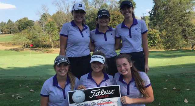 Girls Varsity Golf Team Wrap Up SLNC Title