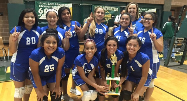 NJH Volleyball Gets 1st at Tourney!