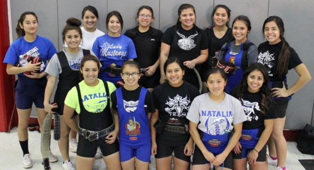 Girls Powerlifting Places 1st out of 18 teams! Photos Posted