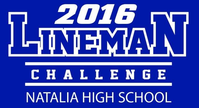1ST ANNUAL NATALIA SPORTS LINEMAN CHALLENGE