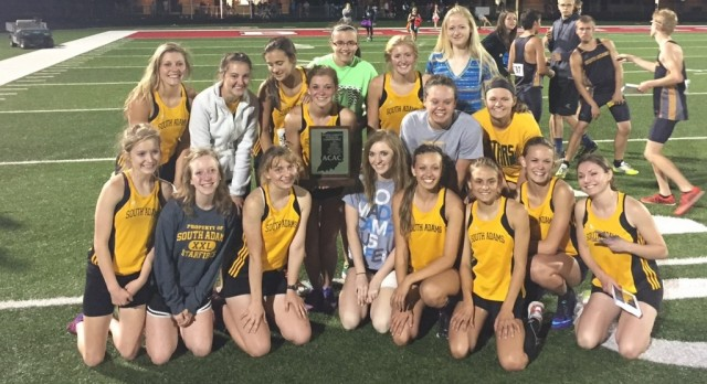 Girls Track: ACAC Champions
