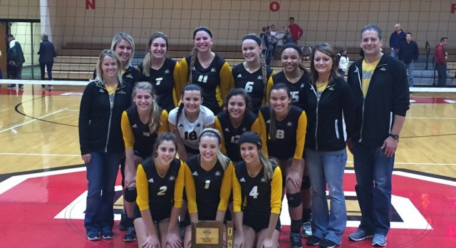 Volleyball Wins Sectional
