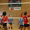 Girls Varsity Volleyball vs. Stebbins 9-6-14