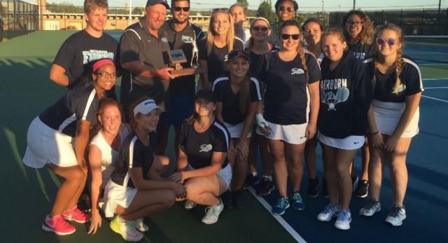 Girls Tennis Wins GWOC South