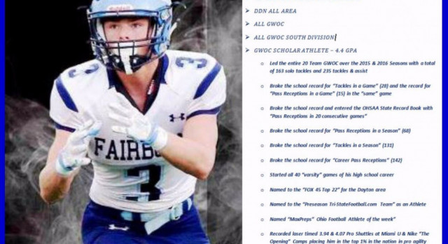 Easterling Earns All-State Football Honors