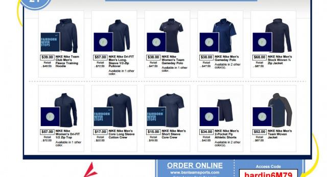 Fairborn NIKE Team Shop