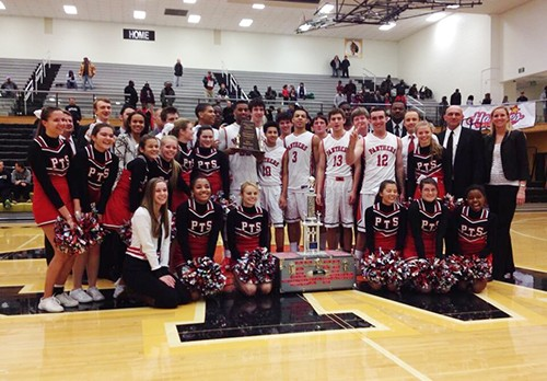 Boys basketball repeats Marion County Championship
