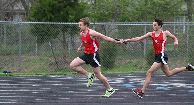 Track teams win Lutheran Invitational