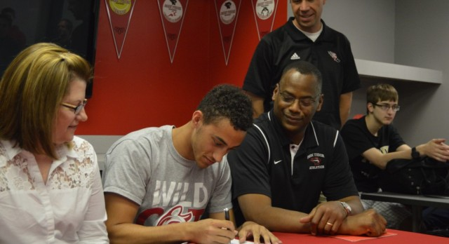 Seniors Logan Lowry and Marcus Downs Sign Letters for College Athletics