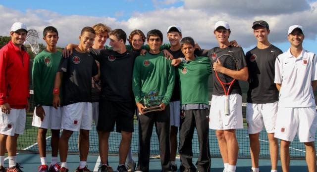 Park Tudor School Boys Varsity Tennis finishes 1st place at ICC